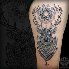Coen Mitchell Tattoo Gold [Tattoo Gallery-Mosaic Flow]