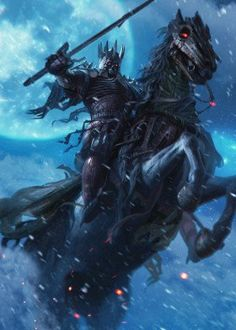 View an image titled 'Eredin Art' in our Gwent: The Witcher Card Game art gallery featuring official character designs, concept art, and promo pictures. Dark Fantasy Art, Fantasy Artwork, Dark Art, Witcher Art, The Witcher 3, Berserk, Fantasy Creatures, Mythical Creatures, Fantasy Character Design