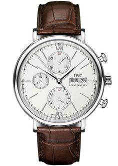 The Watch -   Because there's nothing classic about checking the time on your phone.    Portofino Chronograph by IWC, tourneau.com.      Read more: Classic Men's Clothes - 15 Investment-Worthy Pieces of Clothing - Esquire