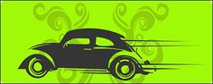 Classic cars vector material