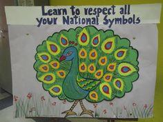India's National Bird Class Bulletin Boards, National Symbols, Public School, India, Bird, Projects, Log Projects, Goa India, Blue Prints