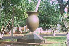 monumento al mate en Apostoles provincia de Misiones, Argentina