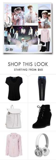 """""""BTS Spring Day Styling"""" by tokyotrekker ❤ liked on Polyvore featuring Alexander Wang, M.i.h Jeans, Aéropostale, MICHAEL Michael Kors, Rails, Master & Dynamic, BillyTheTree, kpop, bts and Spring2017"""