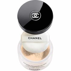 CHANEL POUDRE UNIVERSELLE LIBRE Natural Finish Loose Powder DetailsImparts a translucent, natural matte finish when applied over makeup in the morning or as an anytime touch-up. Chanel Beauty, Chanel Makeup, Beauty Makeup, Face Makeup, Chanel Chanel, Chanel Creme, Chanel Boots, Setting Powder, Stil Inspiration