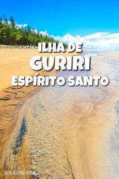 A ilha de Guriri fica no município de São Mateus e reúne belas praias, como a Praia de Guriri, a Praia do Bosque e Barra Nova, na divisa com Linhares