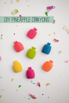 TELL:  DIY PINEAPPLE CRAYONS
