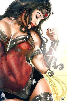 "thebestofwomenincomics: ""Wonder Woman by Artist of the Month: Cedric Poulat """