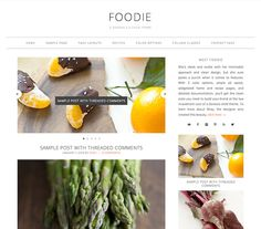 foodie wordpress theme - best wordpress themes for food blogs