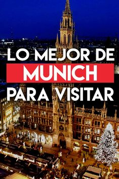 21 Lugares que visitar y que ver en Munich, Alemania - Travel to Blank --Learn to Speak Fluent German Today!Try it for FREE NOW.Click the Photo for More Information Learn To Speak Chinese, Learn To Speak Italian, Top Travel Destinations, Places To Travel, Travel Tips, Travel Around The World, Around The Worlds, Commute To Work, Learn German