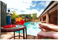 Marlin Lodge is located in the suburbs of St Lucia and is a great place to relax and unwind in a beautiful setting. Four of the bedrooms sleep two Outdoor Swimming Pool, Swimming Pools, Wetland Park, Kwazulu Natal, Bed And Breakfast, Great Places, Terrace, Relax, Tours