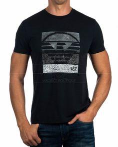 Camiseta Armani EA7 ® Azul Marino & Gris   ENVIO GRATIS