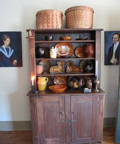 .The pottery is so New England. Would see it at Antique Shows and Auctions.