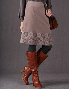 happy making :: Starburst Hem Skirt from Boden