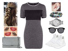 """TNT"" by teodoramaria98 ❤ liked on Polyvore featuring adidas, kitsch island, MICHAEL Michael Kors, STELLA McCARTNEY, Valentino and Topshop"
