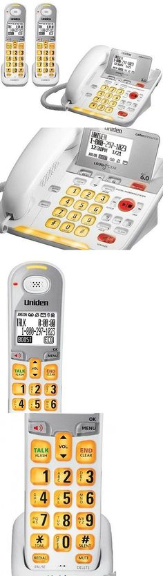 Corded Cordless Phone Combos: Uniden D3098 Corded - Cordless 1.9Ghz Dect 6.0 Combo Telephone + 1 Dcx309 BUY IT NOW ONLY: $147.98
