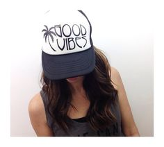 Hey, I found this really awesome Etsy listing at https://www.etsy.com/listing/241929193/good-vibes-trucker-hat-womens-snapback