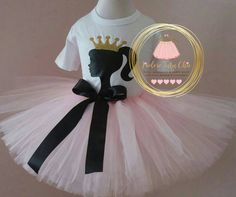 Barbie birthday outfit 1st birthday theme by JAdoreTuTuChic