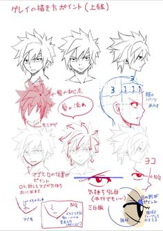 Gray Fullbuster - How to Draw