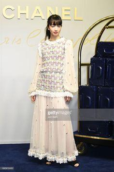 ニュース写真 : Actress Nana Komatsu attends the CHANEL Metiers...