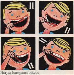 70-luvulta, päivää !: Nököhampaalla vasta on mukava olo