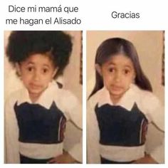 """26 #Trending #Dice Mi Mama #Memes Dice Mi Mama is a Spanish word which means """"what my mom says"""". The #picture of a loving girl with her hand on her waist and an outstanding hair has gone viral in social networks with the phrase Dice Mi Mama. The photograph is of the American singer Cardi B when she was a girl. She published it in her Instagram profile on July 2, earlier with the phrase """"My mom says you should play with me""""."""