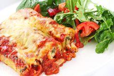 Cannelloni au fromage et épinards #recettesduqc #vegetarien