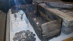 Cajones con monedas procedente del naufragio de 1622 principalmente de los Galeones Nuestra Señora de Atocha y Santa Margarita, que formaban parte de la Flota de Tierra Firme. Mel-Fisher-Maritime-Museum-Atocha-Treasure