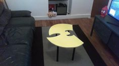 Wu Tang Clan Table for your living room.