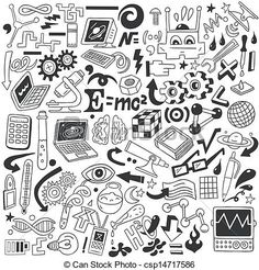 Picture end result for pictures to print on rice paper Vector Fisica Obtain Science Doodles, Science Icons, Doodle Drawings, Doodle Art, Craft Font, Travel Doodles, Notebook Doodles, School Murals, Doodle Icon