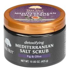 Tree Hut Detoxifying Mediterranean Salt Scrub Fig & Olive, Ultra Hydrating and Exfoliating Scrub for Nourishing Essential Body Care Fig Fruit, Tree Hut, Salt Body Scrub, Exfoliating Body Scrub, Natural Oils, Natural Beauty, Healthy Skin, Healthy Tips, Body Care