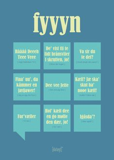 Fyyyn Poster from Dialægt Odense, Cool Picture Frames, Dares, Denmark, Wise Words, Favorite Quotes, Qoutes, Haha, Language