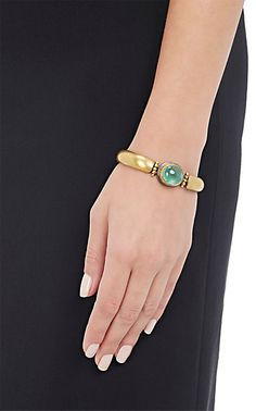 Judy Geib Colombian-Emerald-Cabochon Bracelet -  - Barneys.com