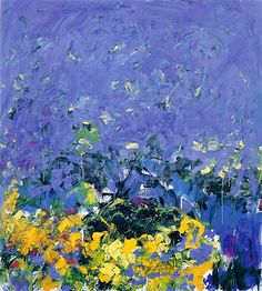 "Joan Mitchell (B: February 12, 1925, Chicago, IL - D: October 30, 1992, Neuilly-sur-Seine, France) was an American ""second generation"" abstract expressionist painter and printmaker. She was a member of the American abstract expressionist movement, even though much of her career took place in France."