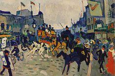André Derain: Regent Street, London (1999.363.18) | Heilbrunn Timeline of Art History | The Metropolitan Museum of Art