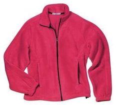 NEW Port Authority - Ladies R-Tek Fleece Full Zip Jacket Raspberry-L Port Authority. $31.50