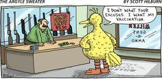 The Argyle Sweater Comic Strip, July 06, 2014 on GoComics.com