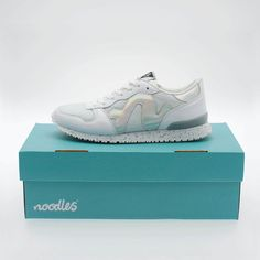 Our brand new Noodles Runabout retrofuturistic trainers. Ss 15, Women's Shoes, Noodles, Trainers, Kicks, Footwear, Brand New, Shape, Lady
