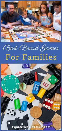 Twin Cities Kids Club Blogs: Best Board Games For Families - This game is relatively new, so if you haven't heard of it, that's why. Sequence is a strategy game that is challenging for adults and easy for children. Another perk of the card-based game is that you can play it individually or in teams. Sequence is not recommended for ages six and below, but some reviews claim that younger children enjoyed playing with an adult. | kids | Games | Fun Games | Game Day | Indoor Games Fun Board Games, Fun Games For Kids, Crafts For Kids, Indoor Games, Learning Through Play, Twin Cities, Educational Activities, Kids And Parenting, Families
