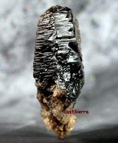 https://flic.kr/p/pjW4v9 | New Find ~ Bromellite Gem Crystal | Transparent Purple Brown Bromellite Crystal Specimen... For identification purposes: Similar to Wurtzite in Crystal Structure