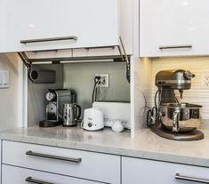 Smart Creative Hidden Kitchen Storage Design You Must Have - Paradise Home Custom Kitchen Cabinets, Kitchen Cabinet Design, Modern Kitchen Design, Kitchen Interior, Kitchen Decor, Kitchen Ideas, Pantry Ideas, Kitchen Furniture, Wood Furniture