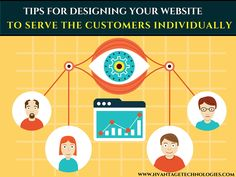 Tips for designing your #website to serve the customers individually