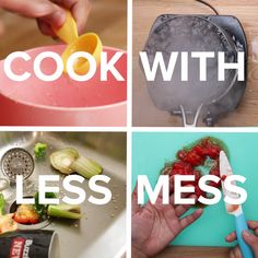 7 Hacks For Easy Kitchen Cleanup // #hacks #kitchenhacks #cleaning #Nifty