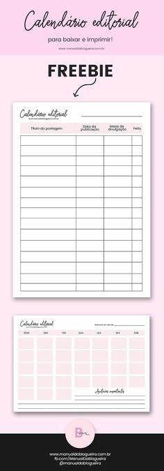 Blog  Social Media Editorial Calendar Printable  Half Asleep