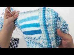 Erkek Bebek Kapşonlu Hırka Yapılışı 1. Bölüm - YouTube