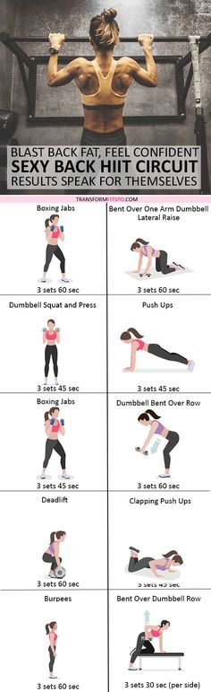 #womensworkout #workout #femalefitness Repin and share if this workout gave you a sexy back! Click the pin for the full workout.