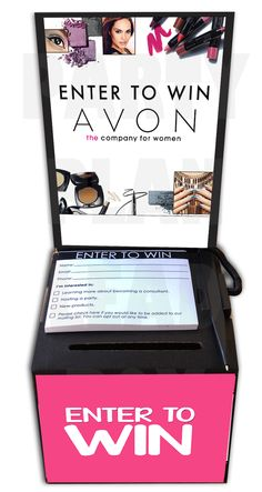Avon Lead Box Kit - Party Plan Lead Box