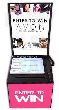 Avon Lead Box Kit - Party Plan Lead Box