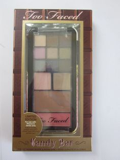 Too Faced Chocolate Candy Bar Iphone 5 Makeup Palette & Phone Case, NIB #TooFaced