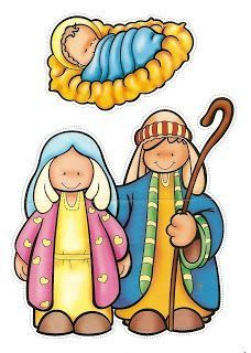 mary and joseph and babt jesus Mais Christmas Graphics, Christmas Clipart, Christmas Images, A Christmas Story, Christmas Nativity, Merry Christmas, Christmas Holidays, Christmas Ornaments, Christmas Activities