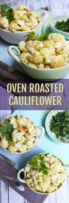 A really simple and delicious way to cook cauliflower.